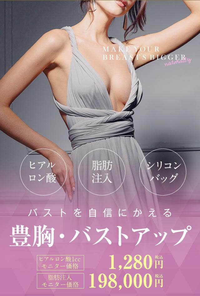 湘南美容クリニック横浜東口院の豊胸 バストを自信にかえる 豊胸・バストアップ